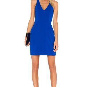 Amanda Uprichard Santiago Dress Royal Blue